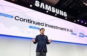 HS Kim President and CEO of Consumer Electronics Division Samsung Electronics at CES 2019 Samsung Press Conference 1